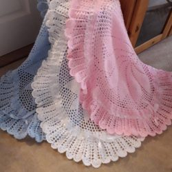 Call The Midwife Baby Shawls
