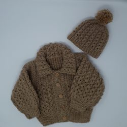Hand Knitted Baby Coats and Jumpers