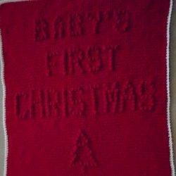 Christmas Baby Blanket